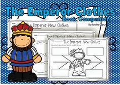 With this download you learn about The Emperor New Clothes. Its a great print and go back for school or home! With 50 pages of printables, your life will be made easier by just printing off the worksheets you need to teach the lesson. The Emperor New Clothes product focuses on the following skills or concepts: identifying important events, retell, graphic organizers, vocabulary, illustrations, details, KWL, plot, sequence, descriptions, characters, key details, comprehension, major events…
