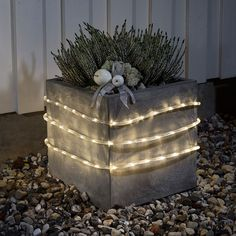 Batteridrevet LED Lysslynge Sensor 48 Lys - Slynger - Utendørs Julebelysning - Julebelysning - Innebelysning | Designbelysning.no