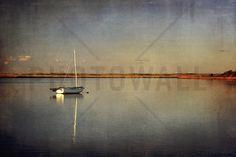 Last Boat in the Bay - Tapetit / tapetti - Photowall