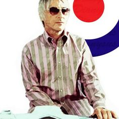 We are the Mods! Paul Weller aka The Modfather. Original #acrylic on canvas…SOLD. Prints available in 42cm x 59cm.  #mod #modfather #weller #art #print #popart #wearethemods #ktf