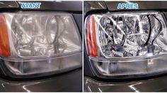Les phares de votre voiture sont trop sales ? En fait, vous ne les avez jamais nettoyés ? Voici une nouvelle astuce pour les nettoyer facilement sans acheter de nouveau produit. La solution en 1 mot