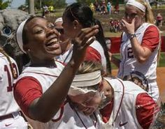 Congratulations to our SEC Championship Alabama Softball team! This is AL's 5th overall and the 4th in the last 5 years. Alabama's first SEC Championship came in 2006 and won 3-consecutive titles from 2010-2012. AL made the Women's College World Series in 3 of those 4 seasons, including a national championship in 2012.   Congratulations, also, to McCleney and Traina who have been Named Top 25 Finalists for USA Softball Player of the Year. #ROLLTIDE #RTR After the game the Seniors got Pied…