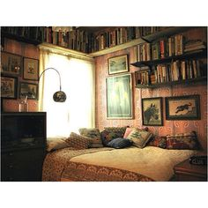 A corner to curl up to read and dream