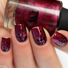 Mouth-Watering Shades of Burgundy Nail Polish ★ See more: https://naildesignsjournal.com/mouth-watering-burgundy-nail-polish/ #nails