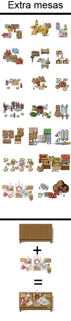 Mesas extra para RPG maker XP by Mataraelfay