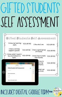 Collect data in your school counseling groups and individual sessions by using this gifted students self-assessment. Self-assessments are a great way to determine student growth! Forms available in both hardcopy and digital version. Elementary School Counselor, Elementary Schools, School Counseling, Student Self Assessment, Social Skills Activities, Bullying Prevention, Emotional Development, Social Thinking, Social Emotional Learning