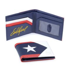 Viva Evel Knievel Men's Wallet Honors The Legendary Daredevil In Your Pocket - Credit Card Wallet, Daredevil, Leather Craft, Leather Wallet, Action Figures, Initials, Unique Gifts, Pocket, Bags