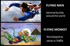 Lol...I'll take Superman. At least Superman has better morals than religion does.