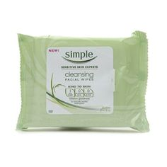 Rank & Style - Simple Cleansing Facial Wipes #rankandstyle