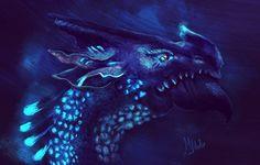 Азуритовый дракон