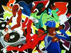 4 Elements Of Hip-hop by Brian Micheloe Doss