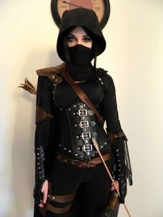 Assassin Outfit Female Gallery girl assassin outfit on we heart it assassin costume Assassin Outfit Female. Here is Assassin Outfit Female Gallery for you. Cosplay Dress, Cosplay Outfits, Halloween Kostüm, Halloween Cosplay, Assassin Costume, Kleidung Design, Fantasy Dress, Mori Girl, Character Outfits