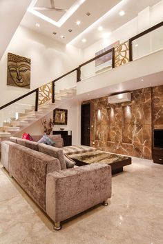 Here you will find photos of interior design ideas. Get inspired! Interior Design Your Home, Home Stairs Design, Smart Home Design, Interior Exterior, Railing Design, Bungalow House Design, House Front Design, Design Your Dream House, Duplex House