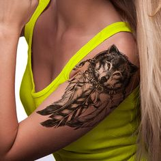 Thinking of getting a tattoo? Why not try it out before you commit. Or maybe you just want to have fun with it and make a fashion statement. WATERPROOF, and EASY TO APPLY Large Temporary Tattoo Sleeve