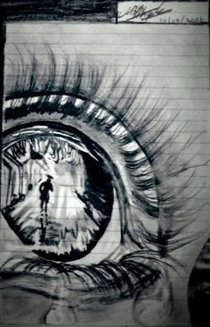 broken heart sketch art