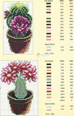 Brilliant Cross Stitch Embroidery Tips Ideas. Mesmerizing Cross Stitch Embroidery Tips Ideas. Cactus Cross Stitch, Mini Cross Stitch, Cross Stitch Borders, Modern Cross Stitch Patterns, Cross Stitch Flowers, Cross Stitch Charts, Cross Stitch Designs, Cross Stitching, Cross Stitch Embroidery