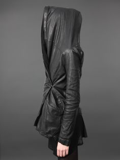Visions of the Future: Leather hoodie