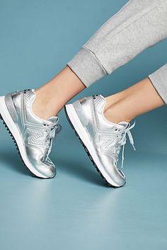New Balance Silver 574 Sneakers New Balance Shoes 666b7b9202