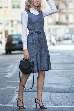 11 Weekday Uniforms You Can Easily Adopt via @PureWow
