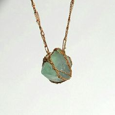 Crystal stone chain