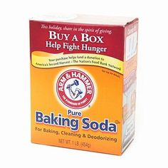 Make a paste out of 3 parts baking soda with 1 part water for glowing skin scrub.    Make homemade Mary Kay Satin Hands with running warm water, slather vaseline on your hands, rub in baking soda to exfoliate, and then squirt some handwash.  Rub in so that it breaks up the greasy paste on your hands.  Next rinse and apply hand lotion.