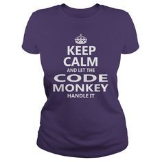 Keep Calm And Let The Code Monkey Handle It Job Shirts #gift #ideas #Popular #Everything #Videos #Shop #Animals #pets #Architecture #Art #Cars #motorcycles #Celebrities #DIY #crafts #Design #Education #Entertainment #Food #drink #Gardening #Geek #Hair #beauty #Health #fitness #History #Holidays #events #Home decor #Humor #Illustrations #posters #Kids #parenting #Men #Outdoors #Photography #Products #Quotes #Science #nature #Sports #Tattoos #Technology #Travel #Weddings #Women