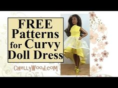 Visit ChellyWood.com for free, printable doll clothes patterns. To find this specific pattern, go to the following page: http://chellywood.com/doll-patterns/...