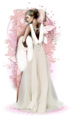 """""""🌸Doux et Rose🌸"""" by cindu12 ❤ liked on Polyvore featuring art"""