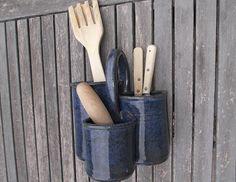 pots de cuisine pots à ustensiles en poterie grès vernissée