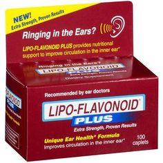 Lipo-Flavonoid Plus Dietary Supplement - Unique Ear Health Formula 100 ct, $24.00