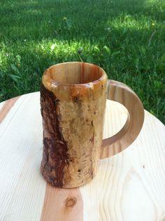 Wooden Beer Mug, Beer Stein, Groomsman Gifts, Moscow Mule Mugs, Groomsmen, Man Cave, Unique Jewelry, Tableware, Handmade Gifts
