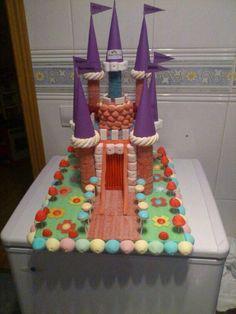Tarta de #chuches castillo - Candy cakes - Gâteau de bonbons - Snoeptaart