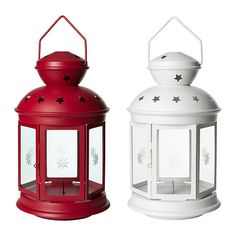 IKEA ROTERA Lantern for block candle, assorted colours $19.99