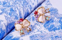 Yasurs™ 2014 New Fashion New Arrived Fashion Elegant Bowknot Inlay Heart-shape Opal Rhinestone Earring. http://www.yasurs.com/yasurstm-2014-new-fashion-new-arrived-fashion-elegant-bowknot-inlay-heart-shape-opal-rhinestone-earring.html #jewelry