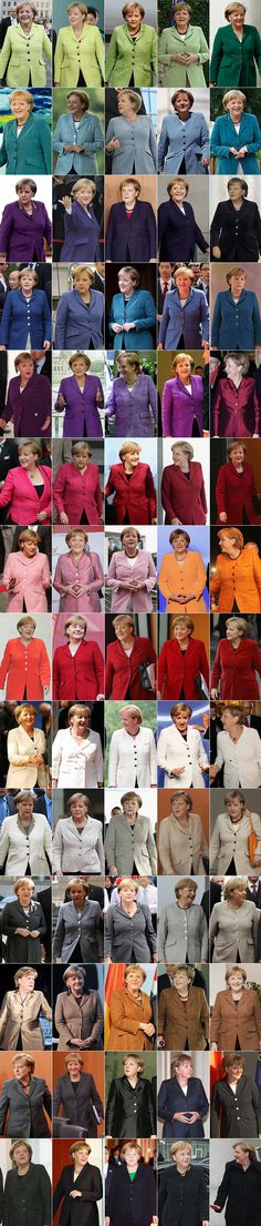 Der Kleiderschrank der Kanzlerin: Full Merkel Jacket Head Of State, Mode Chic, Business Fashion, Beautiful People, Give It To Me, Funny Pictures, Funny Quotes, Humor, History