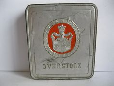 """OVERSTOLZ"" Cigarette tin"