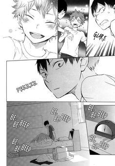 - Usotsuki Canon (Doujinshi) Page 41 - Mangago Kagehina Doujinshi, Kagehina Cute, Kageyama X Hinata, Haikyuu Ships, Haikyuu Manga, Haikyuu Funny, Daisuga, Kuroken, Comic