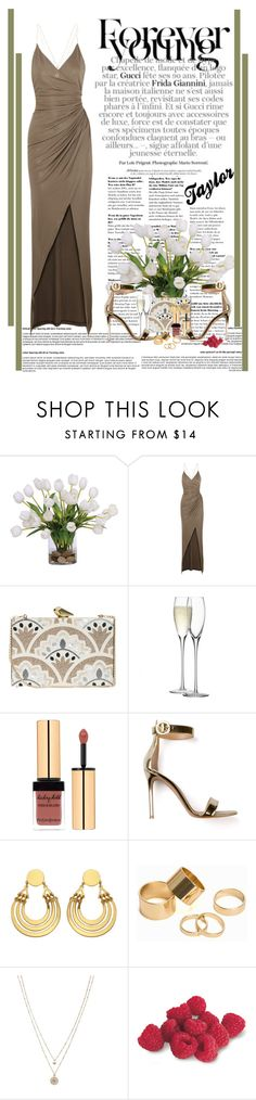 """""""Forever Young"""" by xbonjourbelleo ❤ liked on Polyvore featuring Lux-Art Silks, Balmain, KOTUR, LSA International, Gianvito Rossi, Pieces, LC Lauren Conrad, women's clothing, women and female"""