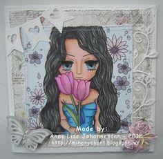 Mine Prosjekter: Blomsterkort
