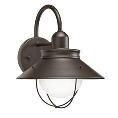 Kichler Lighting Transitional 1-light Olde Bronze Outdoor Wall Lantern | Overstock.com Shopping - The Best Deals on Wall Lighting