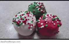 Red Velvet Cake Truffles are simply balls of delicious red velvet cake mixed with cream cheese.