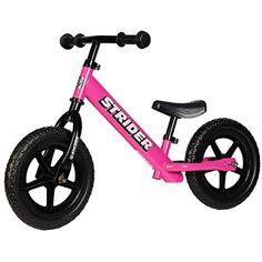 Strider Classic No-Pedal Balance Bike, Pink Strider http://www.amazon.com/dp/B00IZXC3SQ/ref=cm_sw_r_pi_dp_yS7hwb0DB8HQE