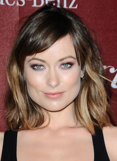 Ombre hair. Thinking about this for fall, with longer side bangs.