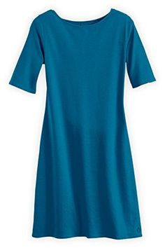 online shopping for Fair Indigo Fair Trade Organic Boat Neck Dress from top store. See new offer for Fair Indigo Fair Trade Organic Boat Neck Dress Boat Neck Dress, Oeko Tex 100, Made Clothing, Fast Fashion, Fair Trade, Indigo, Organic Cotton, Short Sleeve Dresses, How To Wear