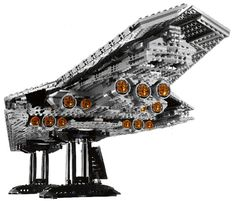When it comes to humongous Star Wars Lego sets, the new Lego Super Star Destroyer ranks right up there with other impressive releases like the Lego Death Star Super Star Destroyer Executor, Lego Site, Ultimate Star Wars, Nave Star Wars, Lego Spaceship, Cool Lego Creations, Lego Worlds, Lego Moc, Lego Lego