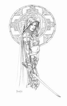 Magdalena: Magdalena sketch