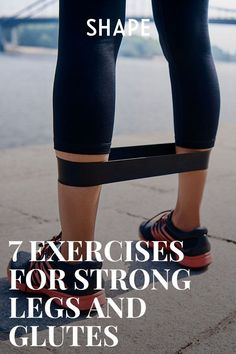 Boost your booty burn (and get faster results) with these sculpting moves that use nothing but a resistance band. This tool is super effective and super portable, so you can fit in a targeted toning session anywhere—at home, on the road, or at the gym. Fitness Humor, Fitness Herausforderungen, Fitness Motivation, Fun Workouts, At Home Workouts, Fitness Inspiration, Stretch Band, Power Walking, Strong Legs