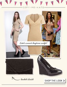 Copy Kate's daytime outfit