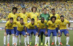 FIFA World Cup 2014: Brazil's 3-1 win over Croatia. #FirstMatch #Congratulations #WorldCup2014