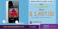 Recuerda que ahora, #Cashero tiene 10% de descuento en toda la tienda. Entra hoy mismo y empieza a ahorrar.